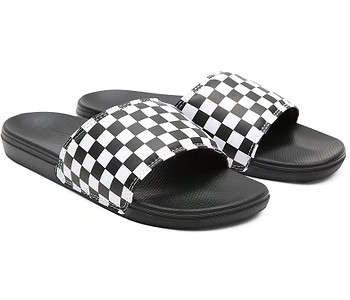 boty Vans La Costa Slide-On - Checkerboard/True White/Black