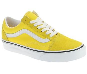 boty Vans Old Skool - Cyber Yellow/True White