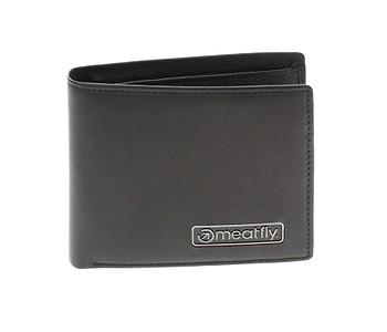 peněženka Meatfly Pitfall Leather - Black