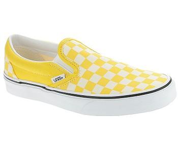 boty Vans Classic Slip-On - Checkerboard/Cyber Yellow/True White