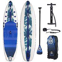"Paddleboard Skiffo Lui 10'8""x33""x6"" - Blue"