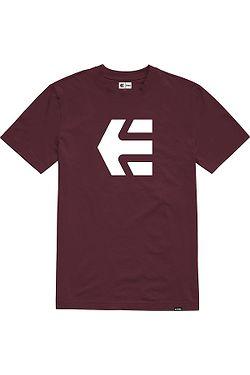 tričko Etnies Icon - Burgundy