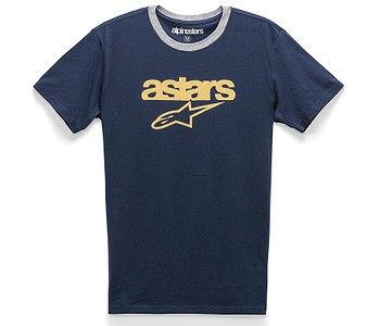 tričko Alpinestars Match Premium - Navy/Grey Heather