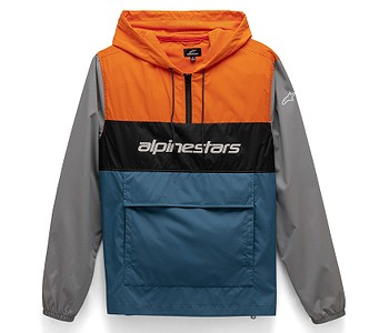 bunda Alpinestars Verso Anorak - Orange/Blue