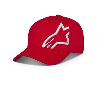 kšiltovka Alpinestars Corp Snapback 2 - Red/White