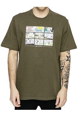 T-Shirt Element Peanuts Camper - Army - men´s