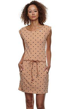 šaty Ragwear Tag Dots - 6000/Beige