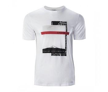 tričko Hi-Tec Baris - White