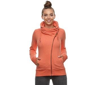 mikina Ragwear Anabel Zip - 4045/Chili Red