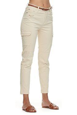 pants Ragwear Vinky - 6000/Beige - women´s