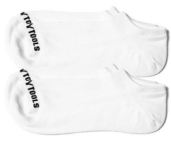 ponožky Heavy Tools Omol21 2 Pack - White