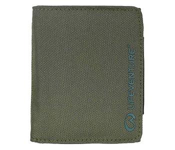 peněženka Lifeventure RFiD Recycled - Olive