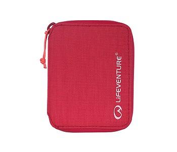 peněženka Lifeventure RFiD Bi-Fold Recycled - Raspberry