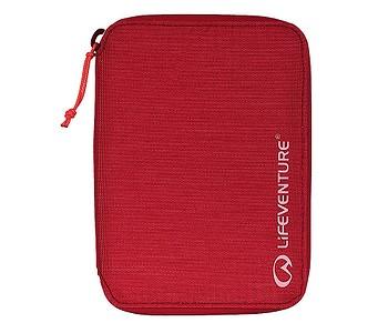 peněženka Lifeventure RFiD Mini Travel Recycled - Raspberry