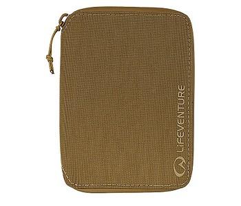 peněženka Lifeventure RFiD Mini Travel Recycled - Mustard