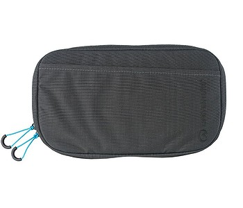 ledvinka Lifeventure RFiD Travel Pouch Recycled - Grey