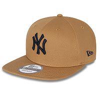 cap New Era 9FI League Essential MLB New York Yankees - Wheat/Dark Blue - men´s