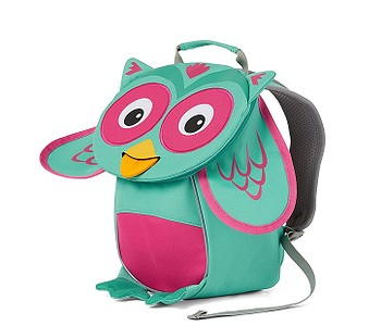 batoh Affenzahn Olivia Owl - Turquoise