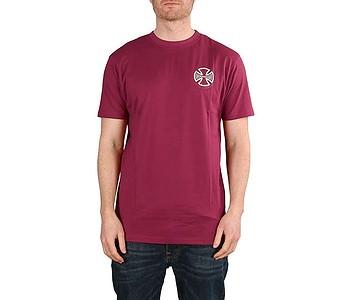 tričko Independent CBB Cross Spade - Maroon