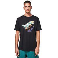 T-Shirt Oakley Jupiter Frog - Blackout - men´s