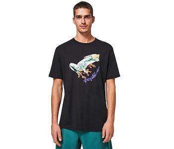 tričko Oakley Jupiter Frog - Blackout