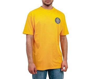 tričko Independent Split Cross - Gold