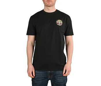 tričko Independent Split Cross - Black
