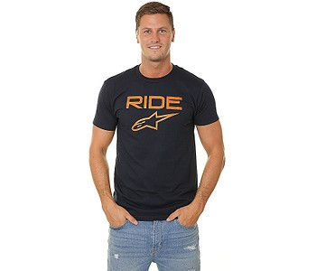 tričko Alpinestars Ride 2.0 - Navy/Orange