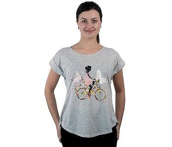 tričko Sittar Darika - Frangrant Bike/Grey