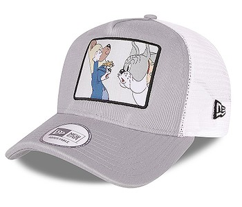 kšiltovka New Era 9FO AF Tom And Jerry Trucker - Grey