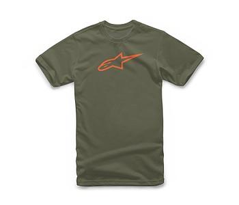 tričko Alpinestars Ageless Classic - Military/Orange