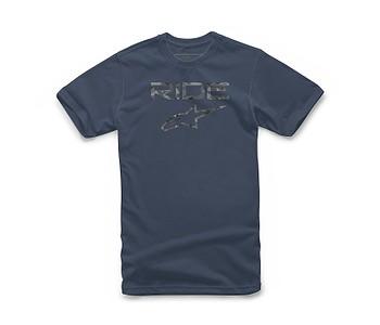 tričko Alpinestars Ride 2.0 Camo - Navy