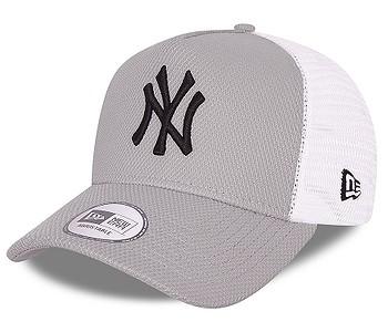 kšiltovka New Era 9FO AF Diamond Era Trucker MLB New York Yankees - Grey/Black