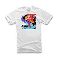 T-Shirt Alpinestars Swirly - White - men´s