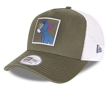 kšiltovka New Era 9FO AF Tom And Jerry Trucker - New Olive