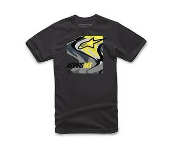 tričko Alpinestars Swirly - Black