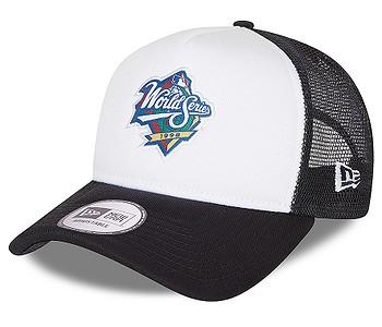 kšiltovka New Era 9FO AF Team Graphic Trucker MLB New York Yankees - White
