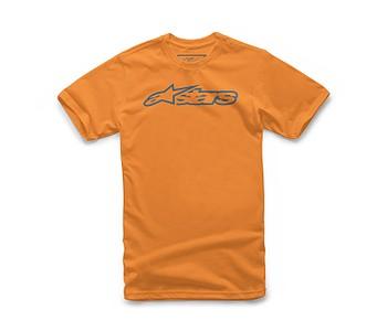 tričko Alpinestars Blaze Classic - Orange/Blue