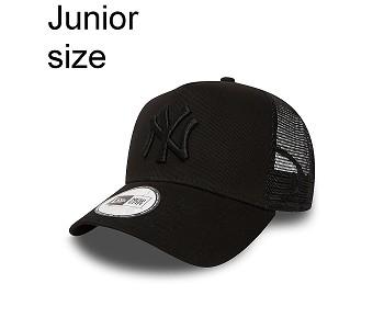 kšiltovka New Era 9FO AF Clean Trucker MLB New York Yankees Child - Black/Black