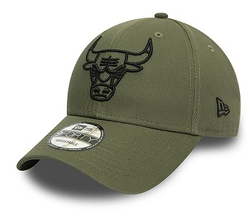 kšiltovka New Era 9FO Essential Outline NBA Chicago Bulls - New Olive