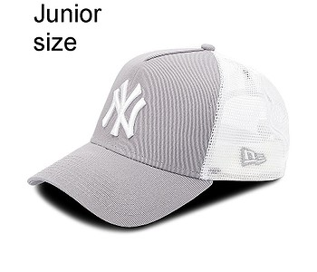 kšiltovka New Era 9FO AF Clean Trucker MLB New York Yankees Youth - Grey/White