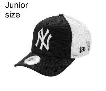 kšiltovka New Era 9FO AF Clean Trucker MLB New York Yankees Youth - Black/White