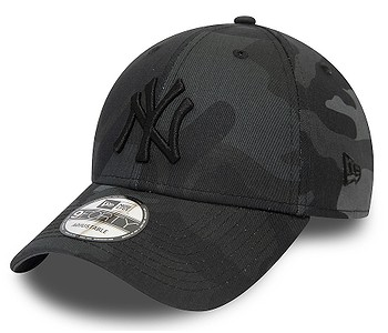 kšiltovka New Era 9FO League Essential MLB New York Yankees - Midnight Camo/Black