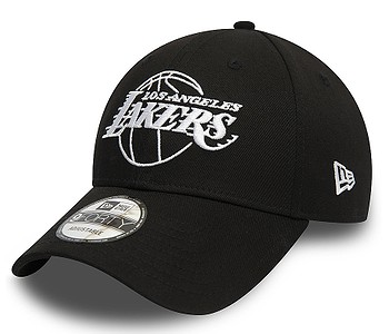 kšiltovka New Era 9FO Essential Outline NBA Los Angeles Lakers - Black