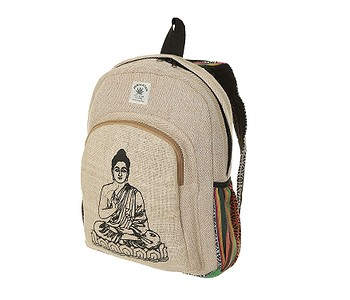 batoh Sittar Buddha - Natural/Multi