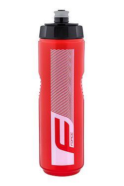láhev na pití FORCE Quart 900 - Red/White