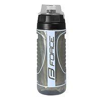fľaša na pitie FORCE Heat 500 - Black/Grey