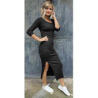 Kleid M.ASCH-Be original Ribbed - Black - women´s