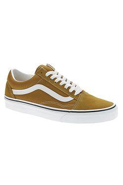 shoes Vans Old Skool - Golden Brown/True White