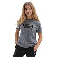 T-shirt Vans Floral V Boyfriend - Grey Heather